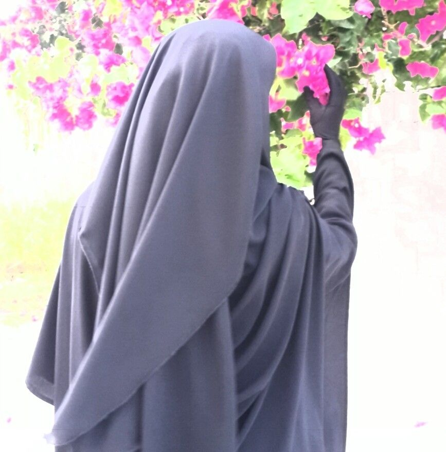 Красивые картинки девушки в никабе