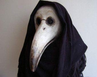 plague doctor mask masquerade mask bird mask carnival mask halloween mask paper mache mask face mask