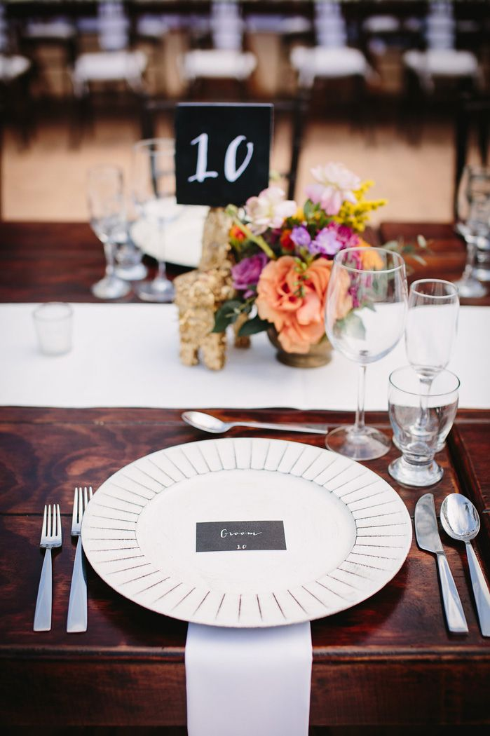 Wedding place setting - Wedding Table Decorations | fabmood.com