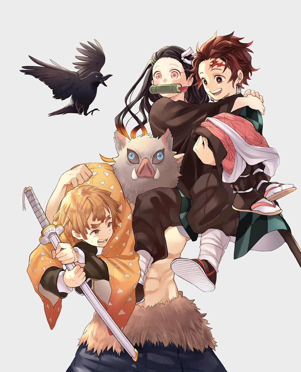 ななミツ🍁コミティア130【け31b】 on Anime demon, Slayer anime, Anime