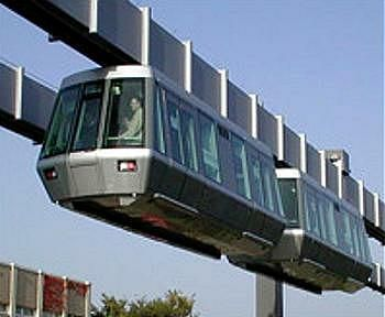 Beijing to Get Hanging Sky Trains and Maglev Trains. H