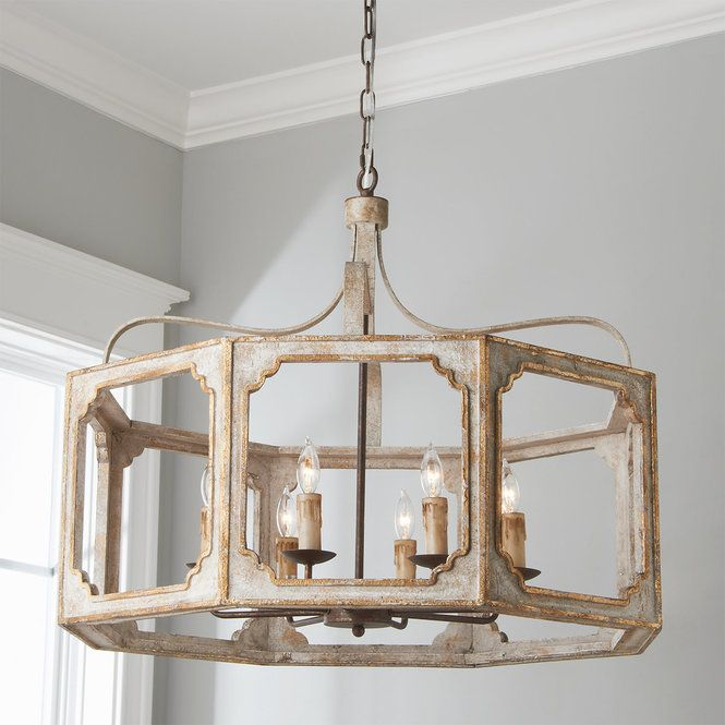 separation shoes 026dc 02df2 Classic Cut Box Octagon Chandelier | Distressed for success ...