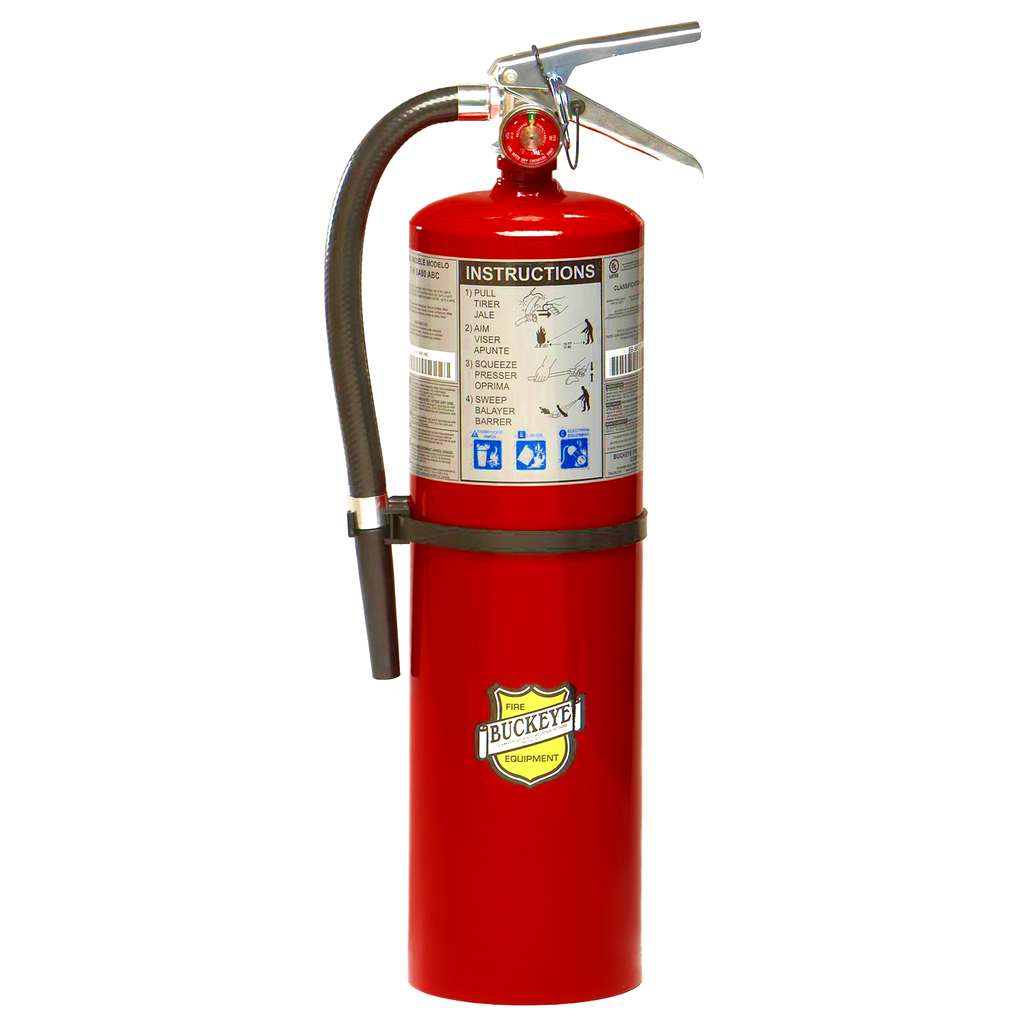 Buckeye Fire Extinguisher 10lb Abc Fire Extinguisher Extinguisher Buckeye