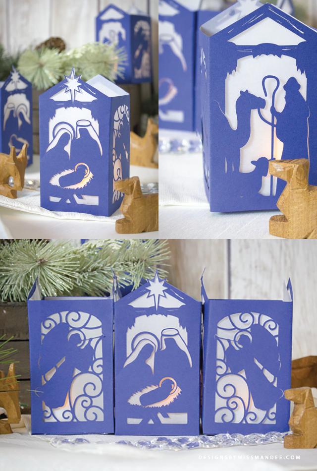 nativity lantern template  Nativity Paper Lantern   Christmas lanterns, Christmas diy ...