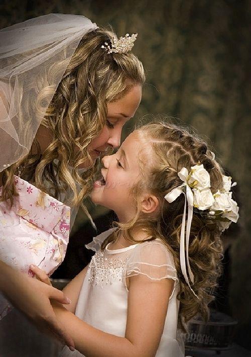 Pleasant Flower Girl Hairstyles Girl Hairstyles And Hairstyles On Pinterest Short Hairstyles Gunalazisus