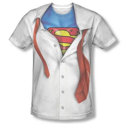 Superman SHIELD DRIP Licensed Adult T-Shirt All Sizes