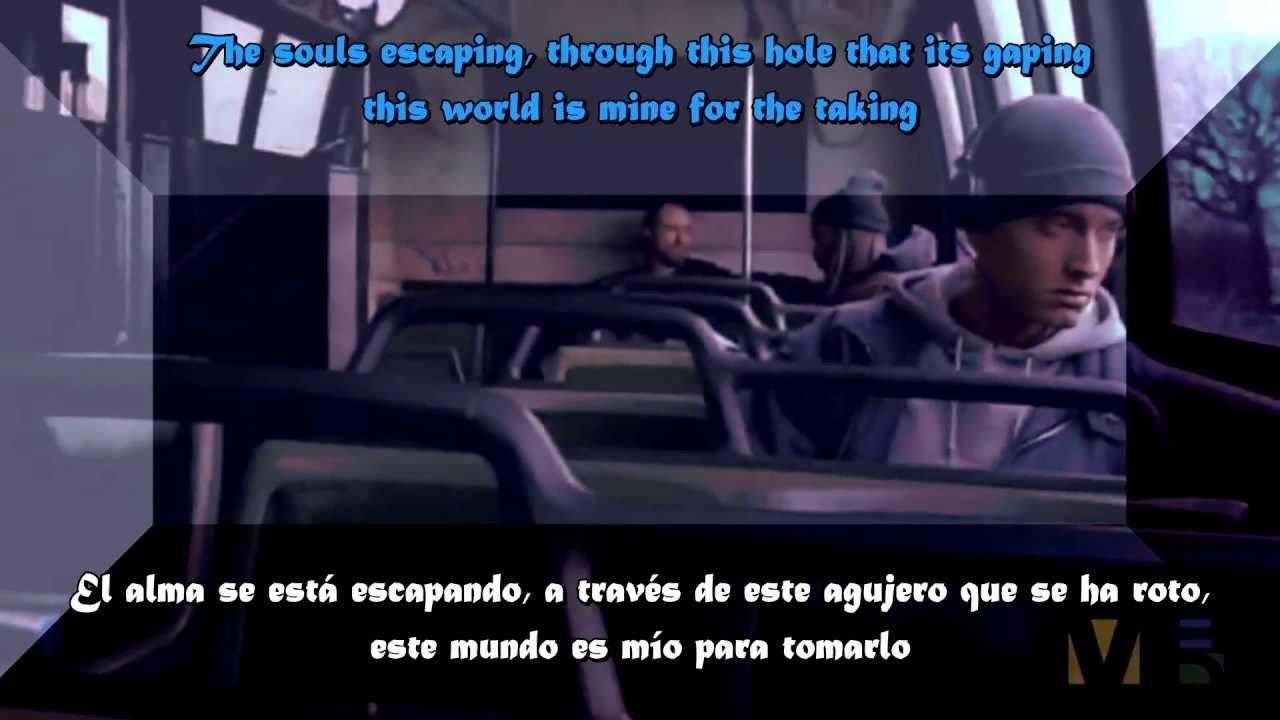 Eminem Lose Yourself Subtitulado Eminem Raperos