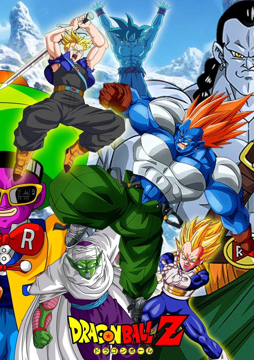 Dbz Super Android 13 By Ariezgao On Deviantart Anime Dragon Ball Super Anime Dragon Ball Goku Dragon Ball Wallpapers