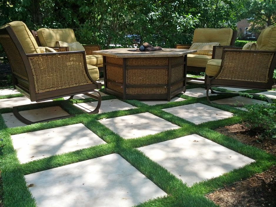 Synthetic Turf And Creative Ideas With Synthetic Grass, Synthetic Grass.  Landscaping Ideas And Design. Rooftop And Back Yard Landscaping With  Artificial ...
