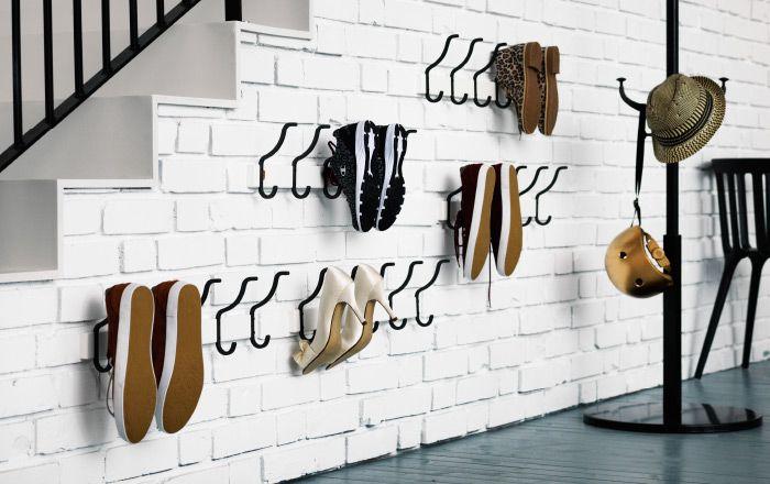 45 kreative Ideen, um Ihre Schuhe zu speichern - Dekoration Blog #storagesolutions