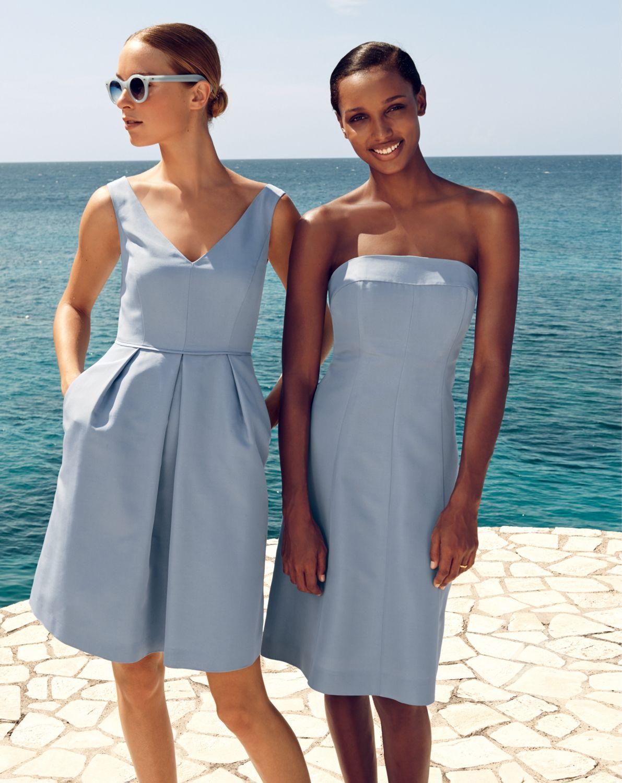 Jcrew wedding dress  JCrew weddings u parties bridesmaid dresses  My Beach Wedding