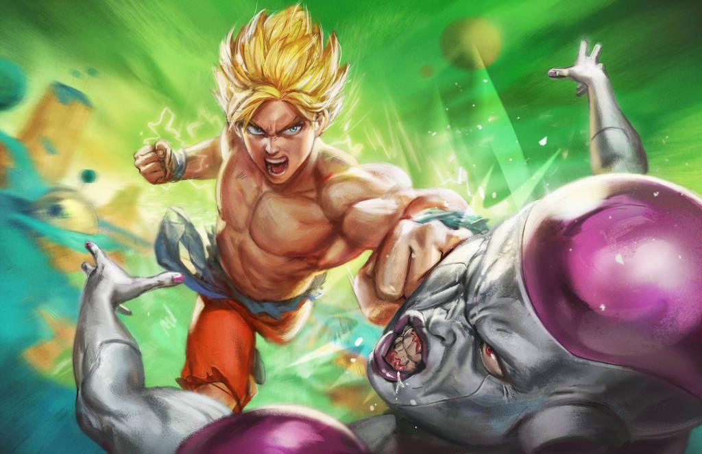 Battle On Planet Namek By Bigmac996 Anime Dragon Ball Super Anime Dragon Ball Dragon Ball Art
