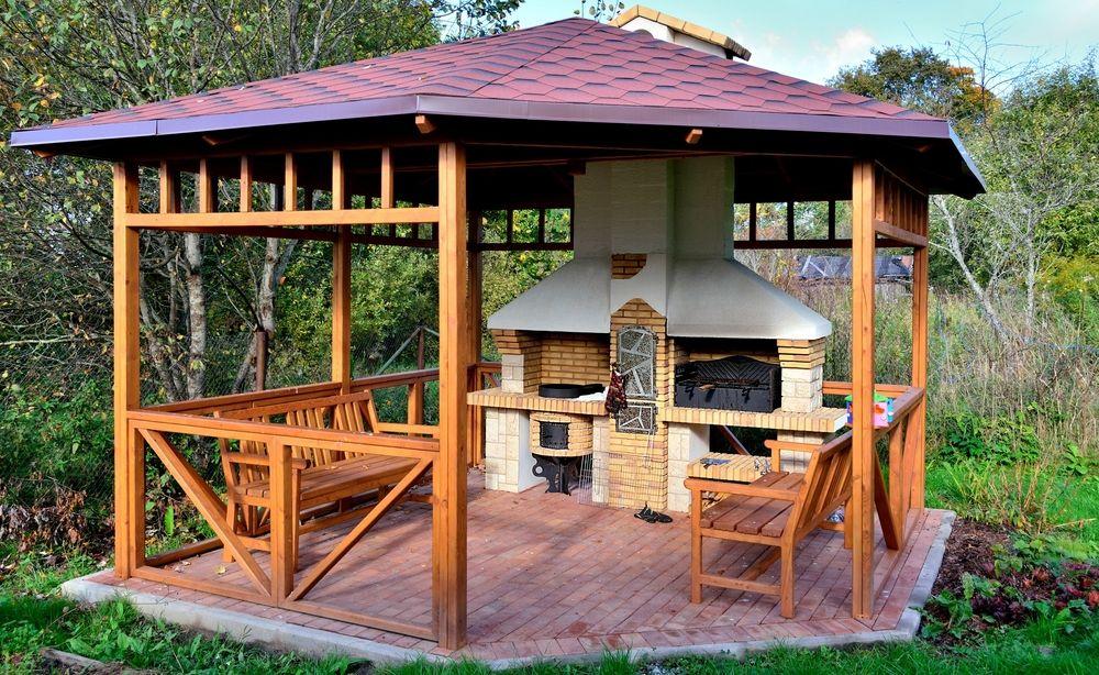 20 Gorgeous Gazebo Designs Backyard Pavilion Wooden Gazebo Backyard Gazebo