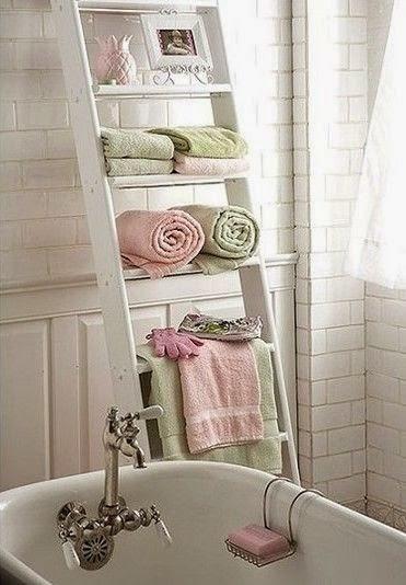 Riciclo creativo idee fai da te per la casa shabby chabby chic and bath - Idee per la casa fai da te ...