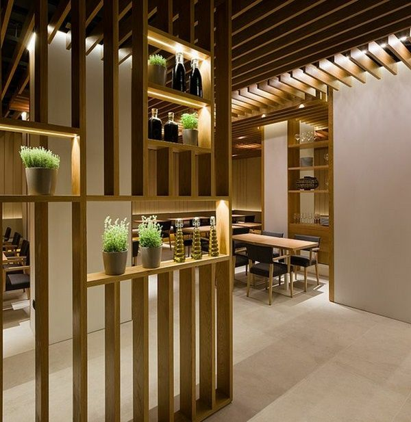 Great designs from the room divider made of wood home for Room design wood