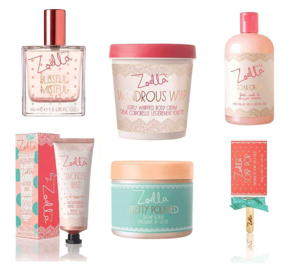 Review Photos Skincare Trend 2017 2018 Zoella Collection At