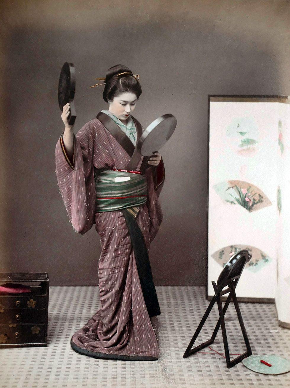 Pin di Jaana Seppälä su Geisha nel 2020 Foto vintage