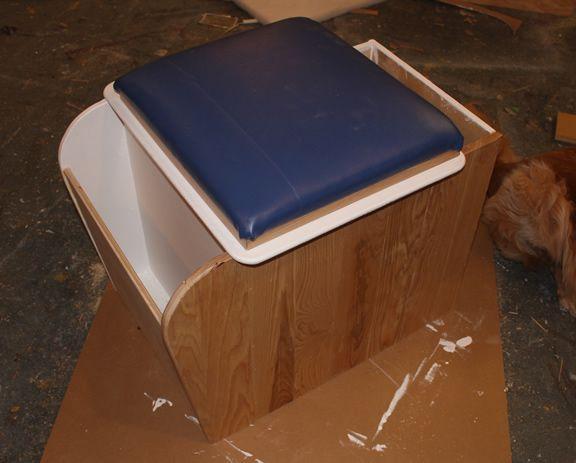 ProMaster DIY Camper Van Conversion -- DIY Composting Toilet ...