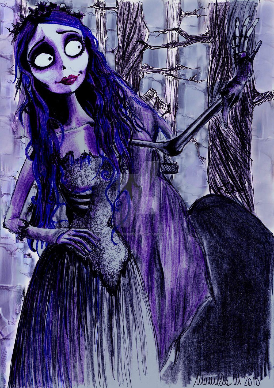 Corpse bride sketchiepoo by rohanelf on deviantart tim