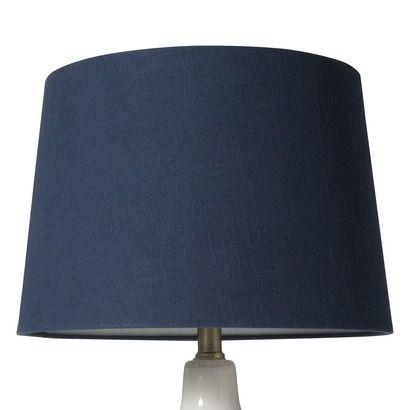 Nate Berkus Linen Lamp Shade Blue Linen Lamp Shades Navy Lamp Shade Lamp Shade