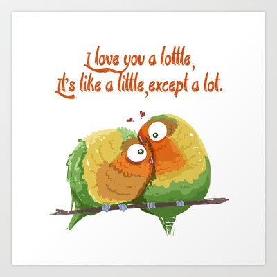 Exceptionnel Lottle Love Birds Quote #lottle