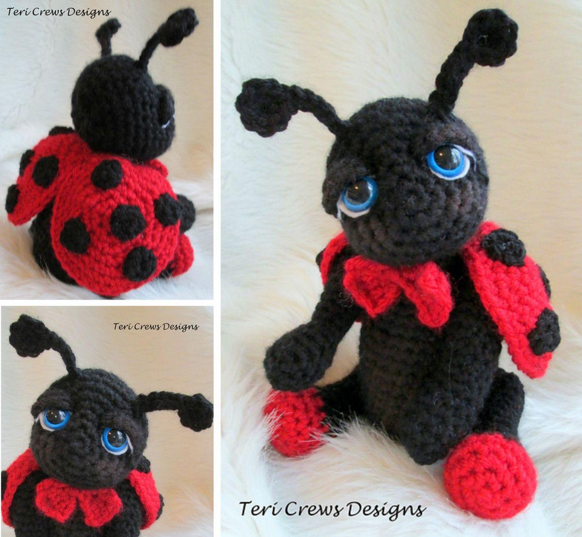 Ladybug crochet pattern cute ideas easy video tutorial crochet crochet ladybug amigurumi free pattern bankloansurffo Choice Image