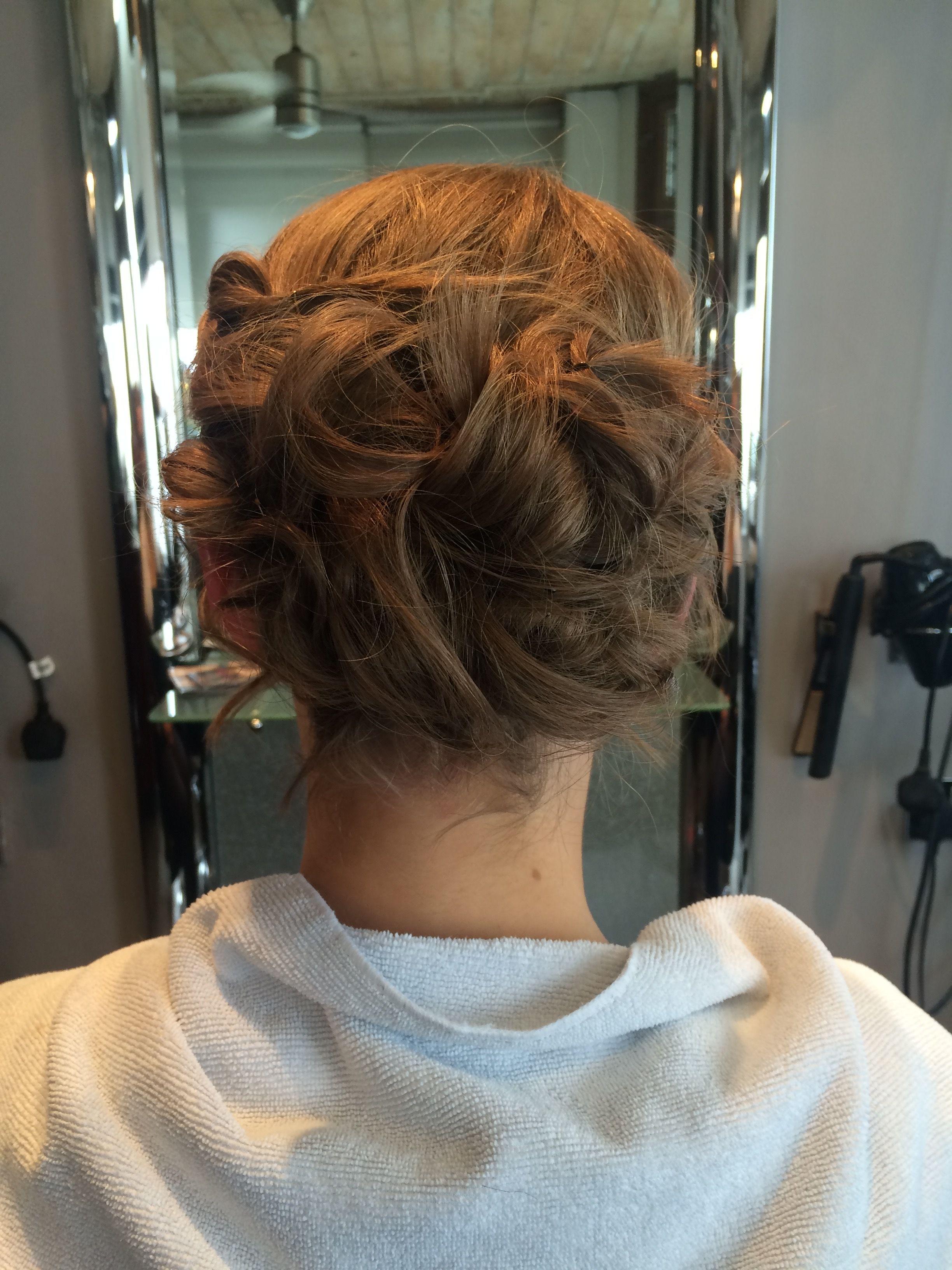 Pin On Hair Up
