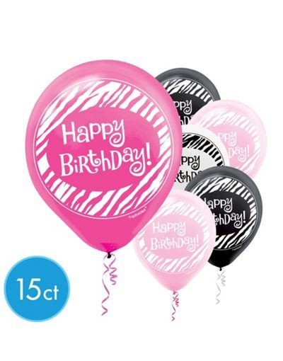 Latex Another Year Of Fabulous Balloons 15ct