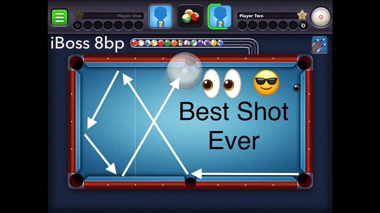 8 Ball Pool Best Trick Shot Ever Trick Shots 8ball Pool Pool Balls