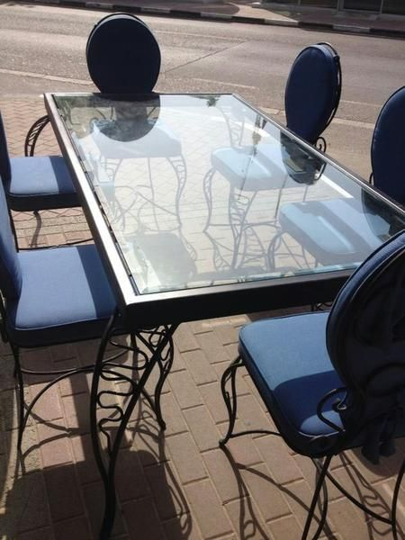 Dubizzle Dubai  Dining Sets Iron Metal  Glass Dining Table With Stunning Dining Room Furniture Dubai Design Decoration