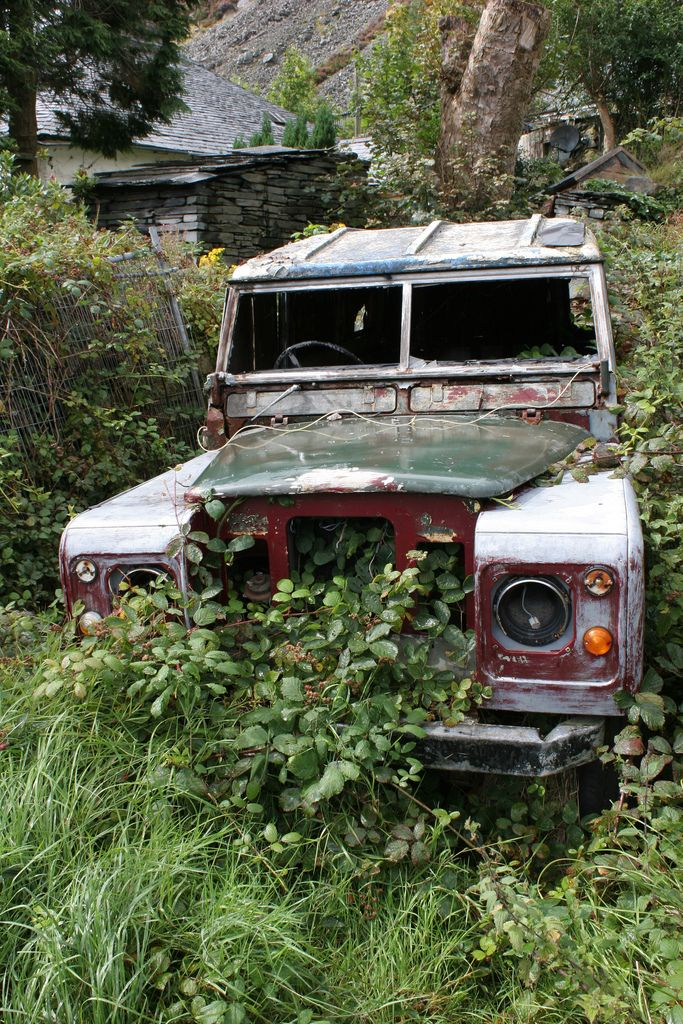 Landrover Abandoned Land Rover Land Rover Defender Land Rover