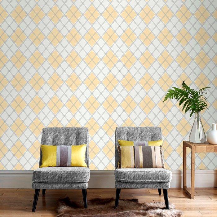 Argyle Tartan Wallpaper
