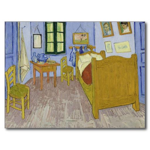 Van Gogh's Bedroom in Arles by Vincent Van Gogh Postcard