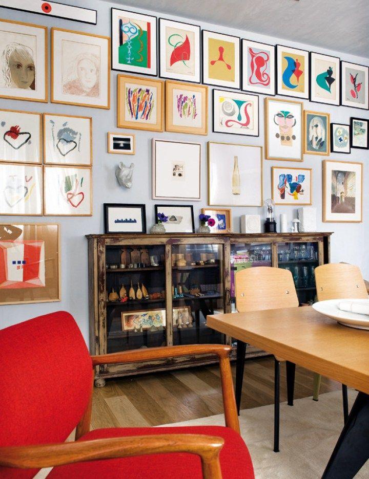 Fabuloso ático en Madrid Eames, Estilo nórdico y Decoracion salones