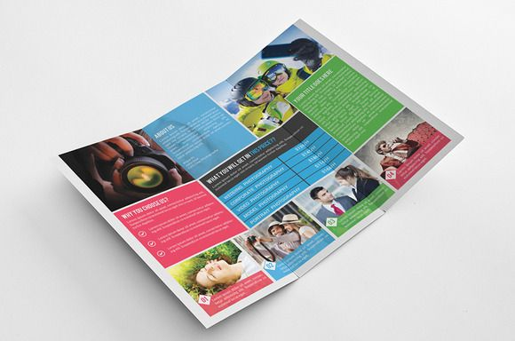 Photography Brochure by Cristal Pioneer on Creative Market Tri