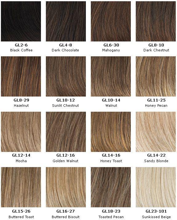 Gabor Next Colors 3 Hair Color Names Honey Brown Hair Blonde Hair Color Chart