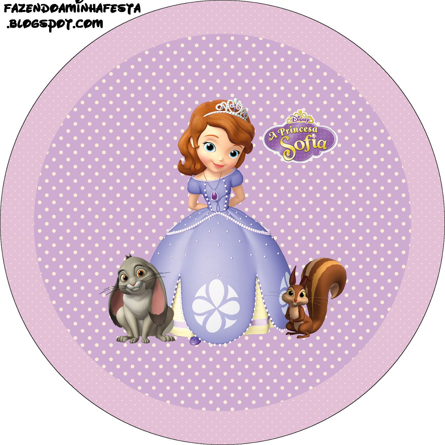 Princess Sofia The First Free Printable Labels Sofia Princess Sofia Printable