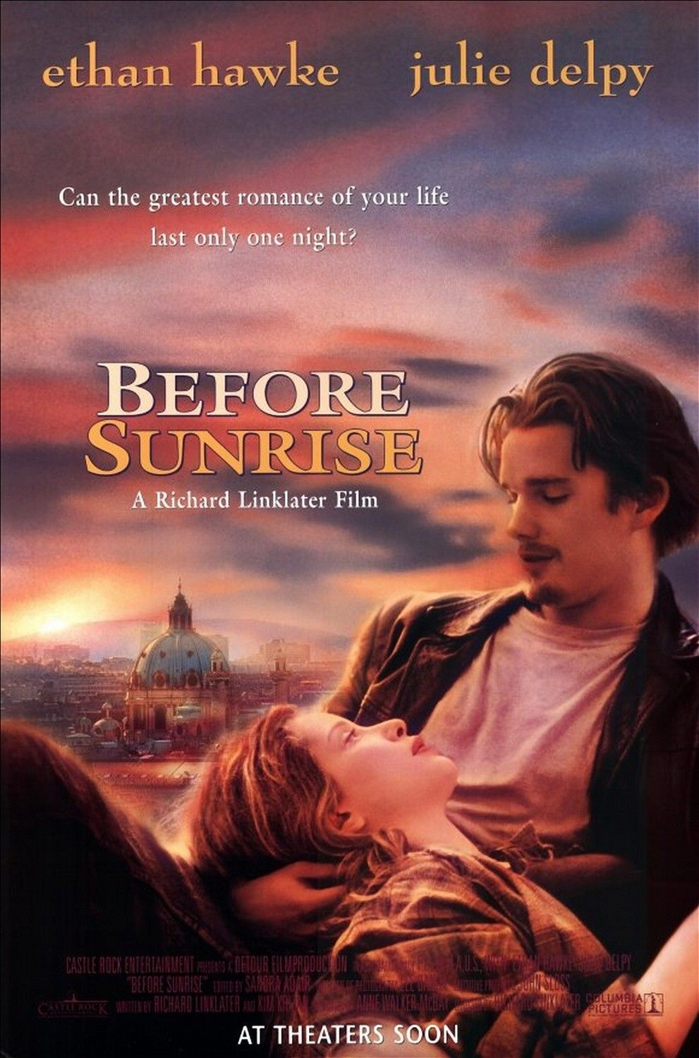 Before Sunrise By Richard Linklater Peliculas Indie Afiche De