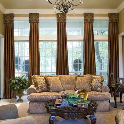 Drapery Ideas For Living Room  Living Room Window Treatments Custom Living Room Window Design Ideas Decorating Design