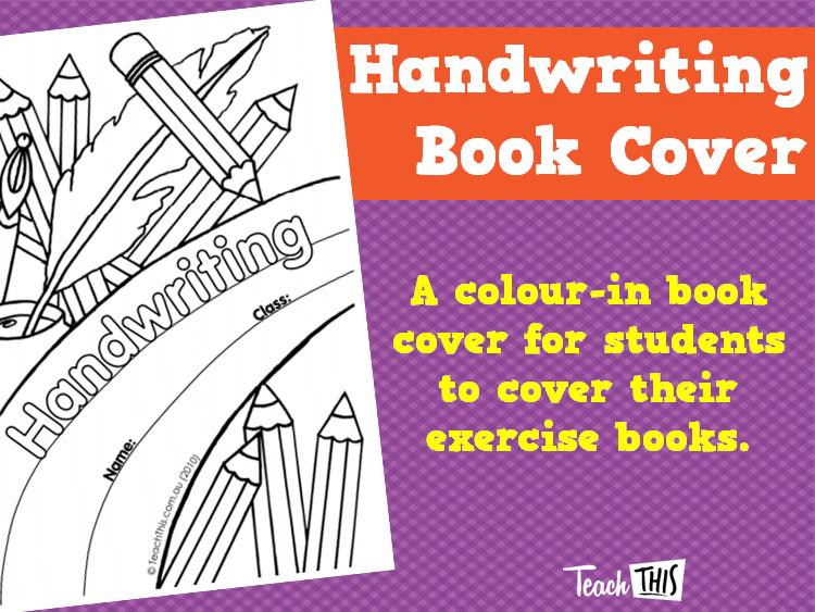 Handwriting - Book Cover | Fun art | Handwriting books