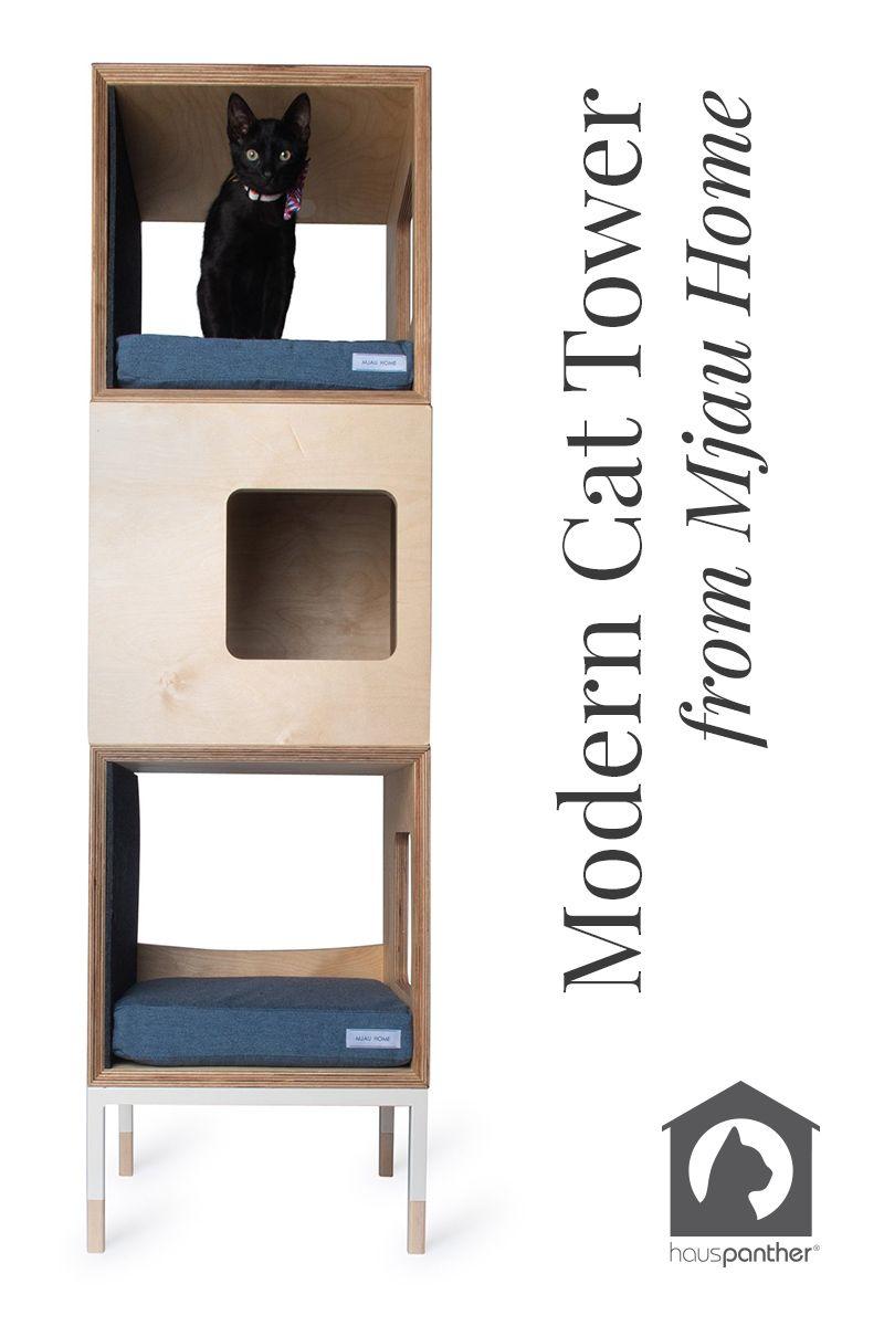 Pin By Hauspanther On Cat Lady Fashion Modern Cat Tree Modern Cat Furniture Modern Cat Tower