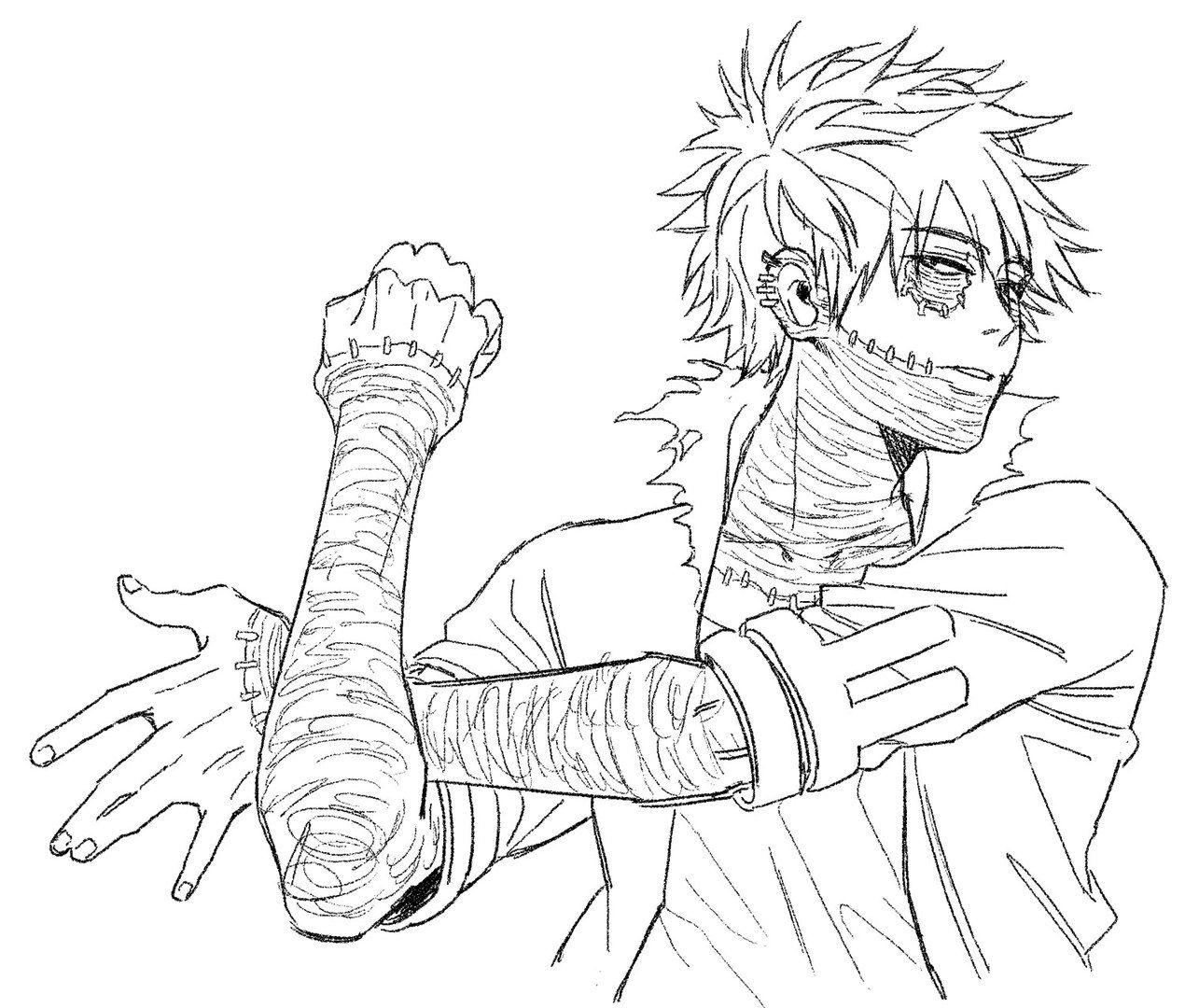 Boku No Hero Academia Dabi Fan Drawing Pictures To Draw Hero