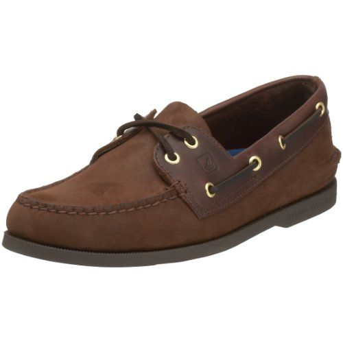 Sperry A/O 2-Eye - Zapatos de cordones, color Sahara, talla 10 Uk S