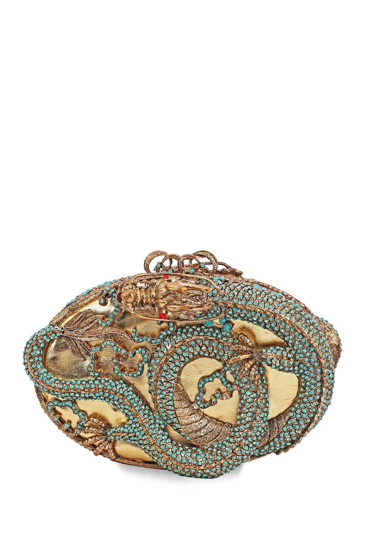 Bansri | Les Dragonne Jeweled Clutch | HauteLook