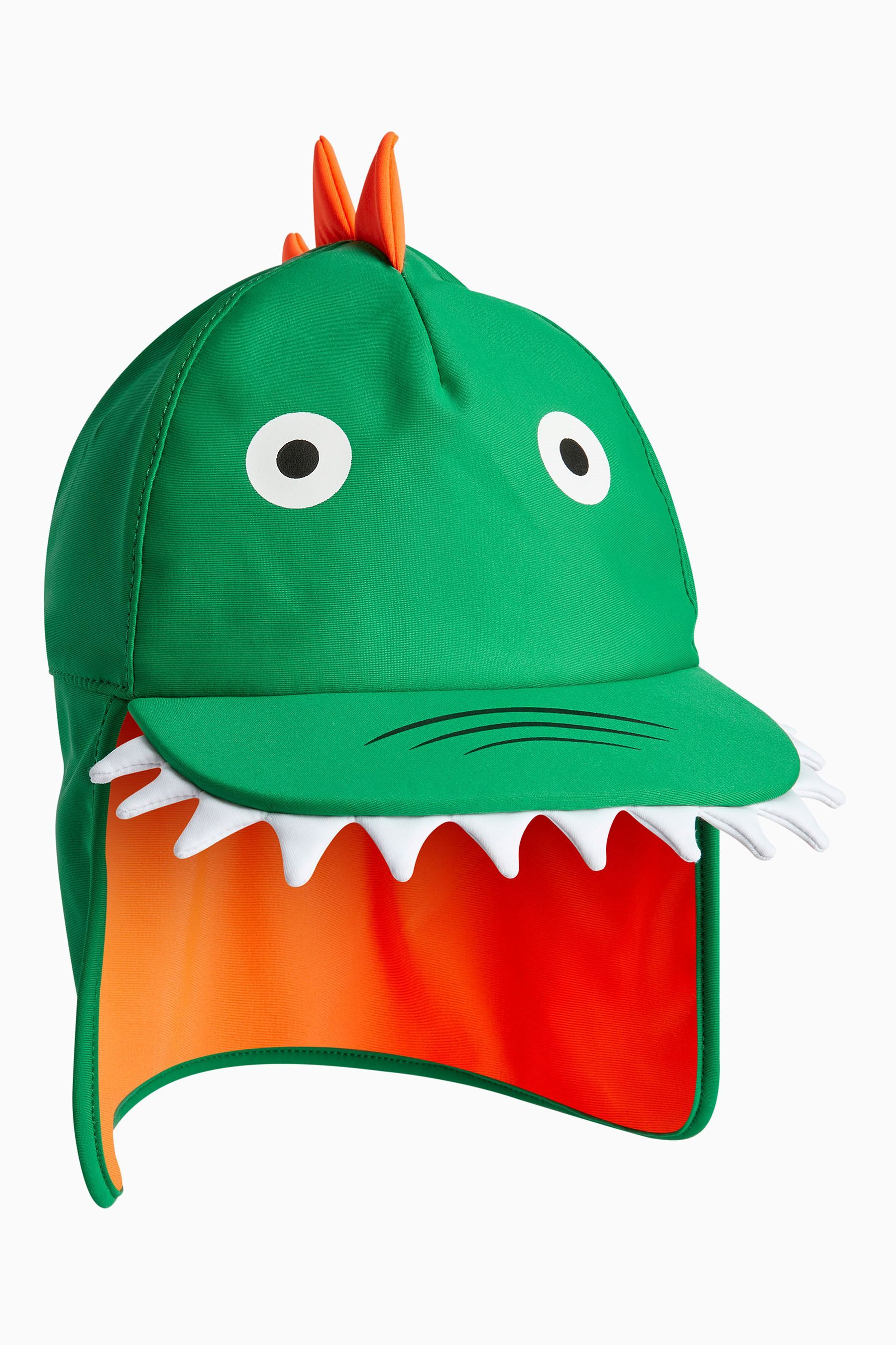 Boys Next Green Lizard Legionnaire Hat (Younger) - Green