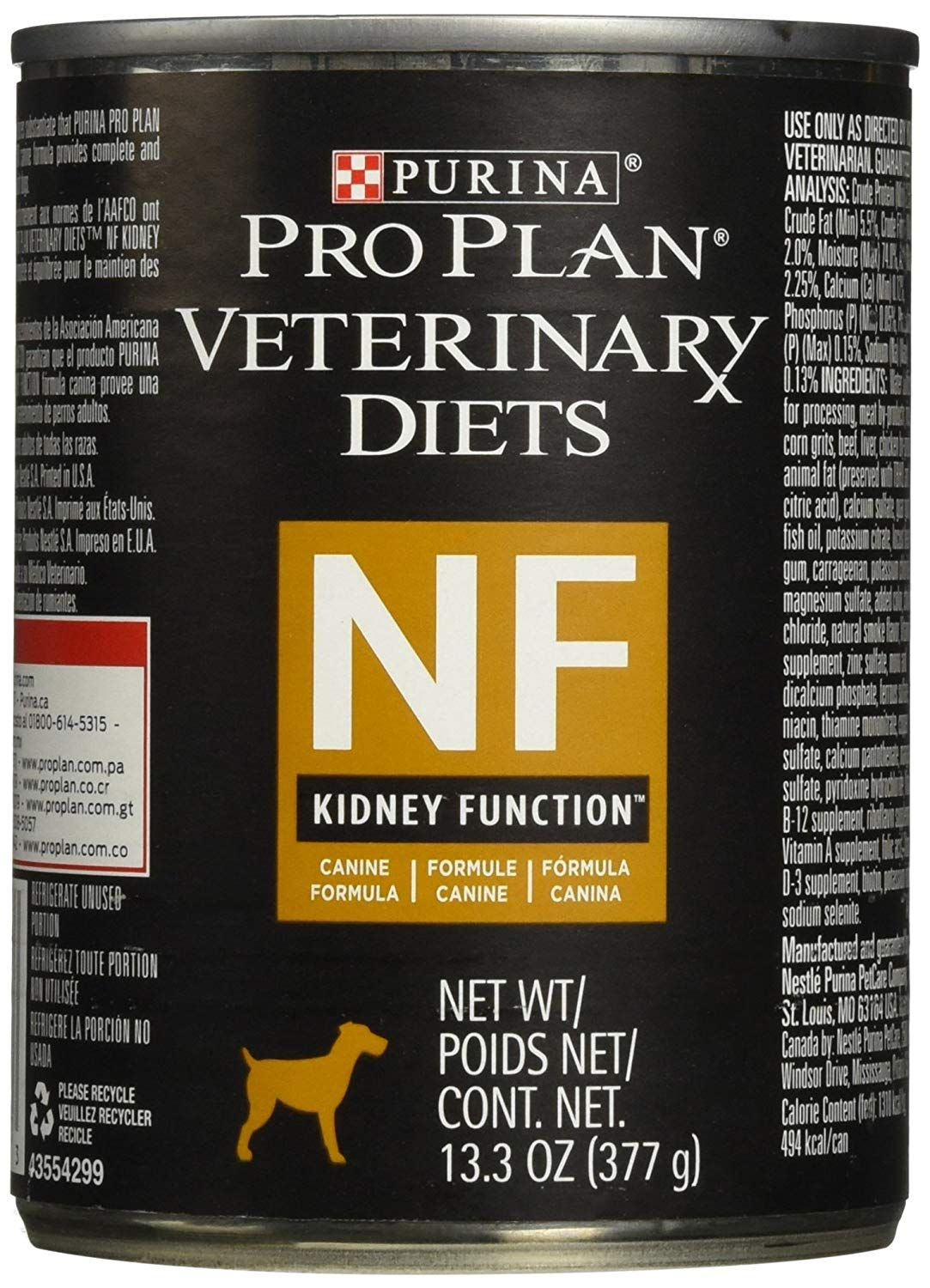 Purina Nf Kidney Function Canine Formula Canned Dog Food 12 13 3 Oz Thank You For Having Viewed Our Photograph Canned Dog Food Dog Food Recipes Wet Dog Food