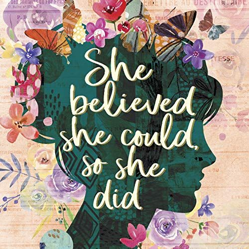 She Believed She Could, So She Did by Willow Creek Press