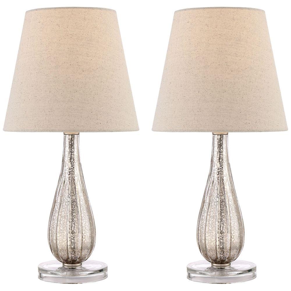 Watson Mercury Glass Table Lamp Set Of 2 Style 1p233