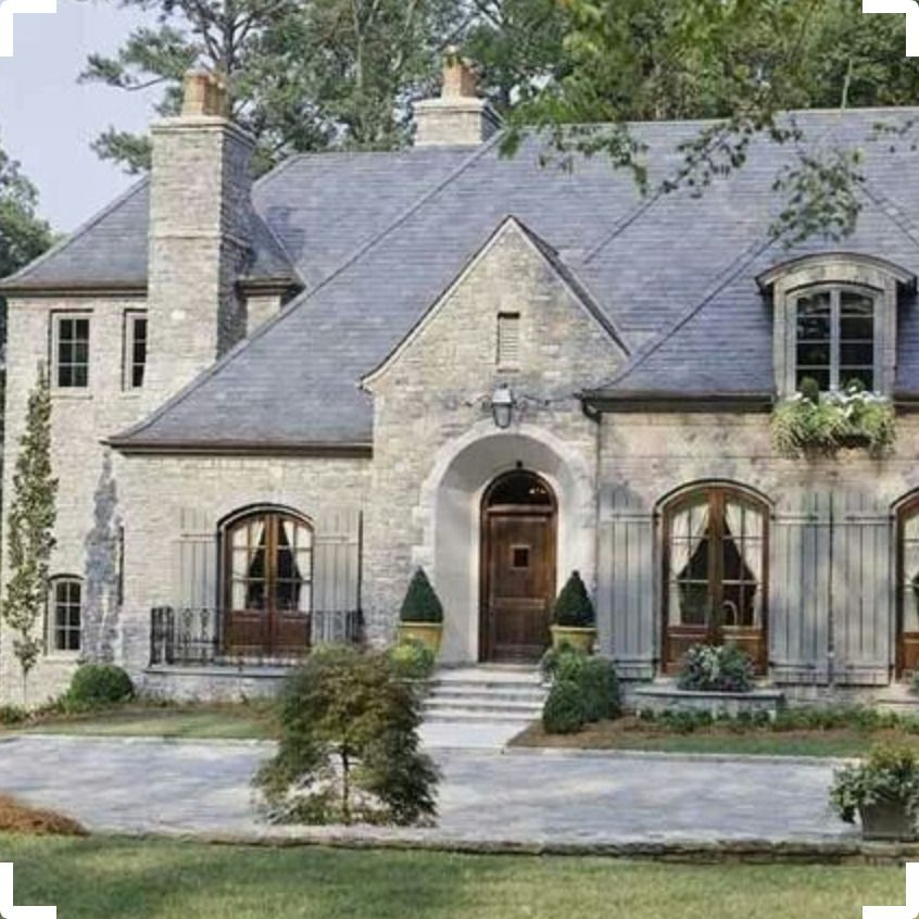 Screenshot Pinterest French Country Exterior Cottage Exterior French Style Homes