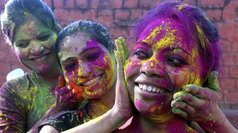 El Festival Holi En India Fotos Festival Holi Holi Festival De Colores